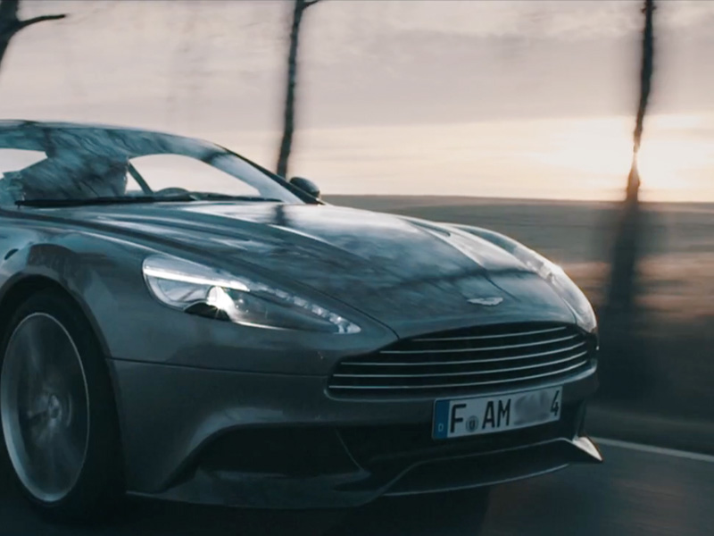 ASTON MARTIN The Art of Vanquish